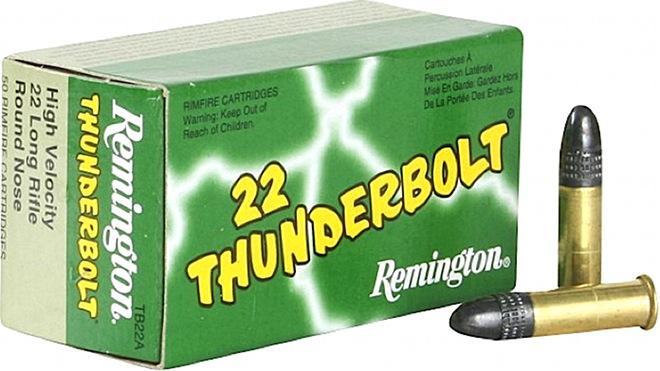 remington rimfire 22 thunderbolt tb 22a 22 long rifle ammunition