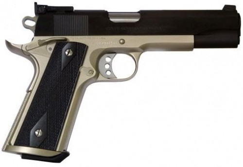 Colt Firearms Special Combat Government Nickel  38 Super 5