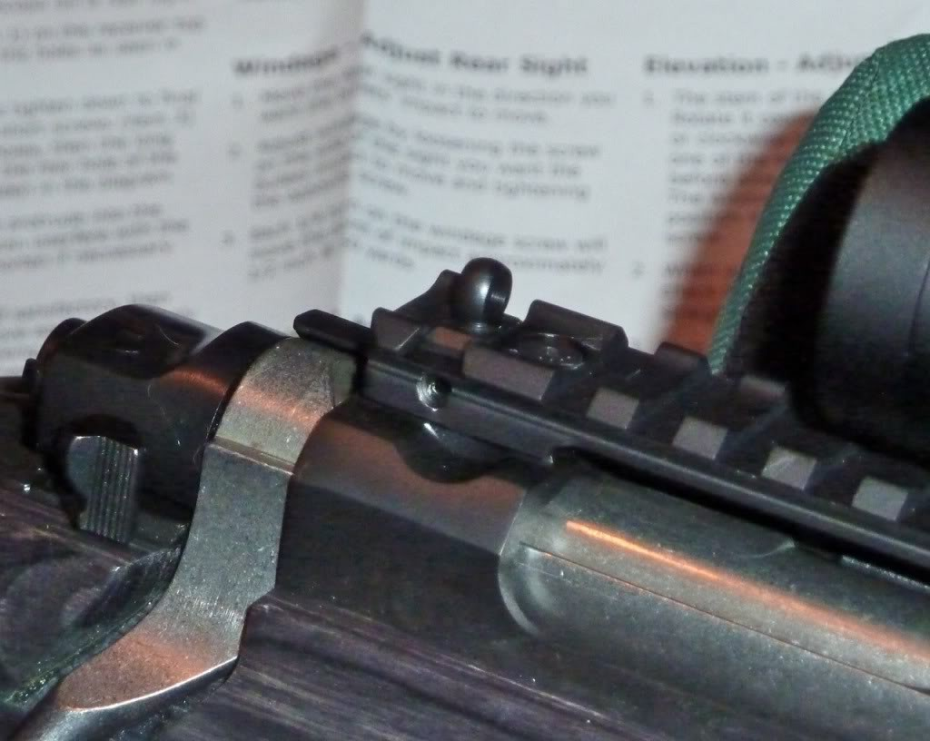 XS Sight Systems Long Rail with Ghost Ring for Ruger GunSite
