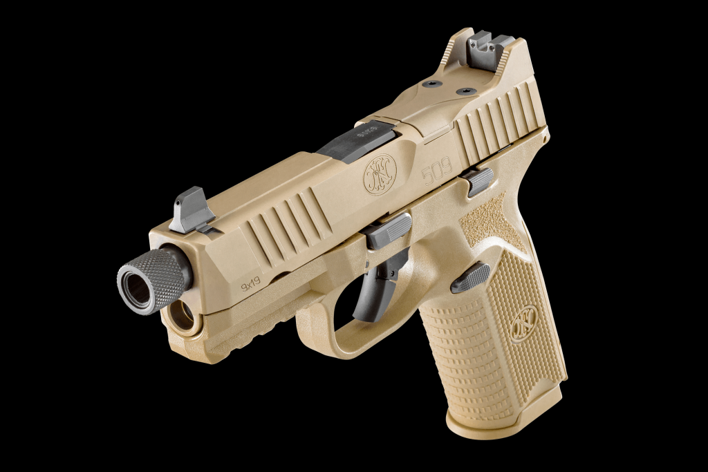 FN 509 Tactical FDE 9mm 4 5-Inch 17rds
