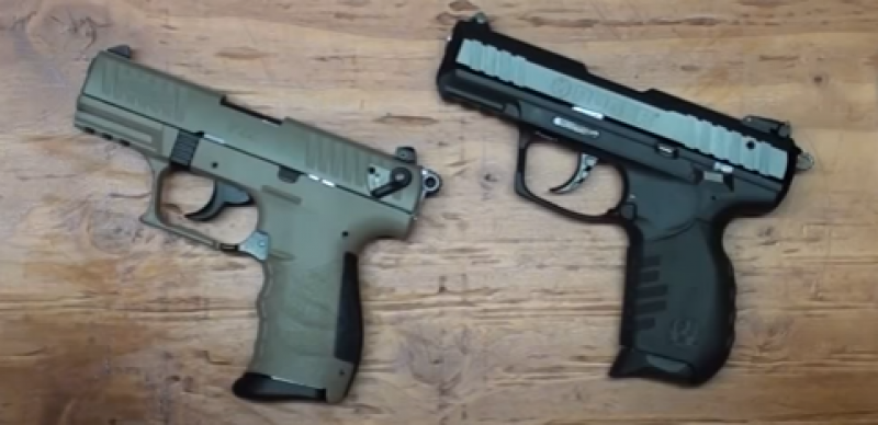 VIDEO: Walther P22 vs  Ruger SR 22