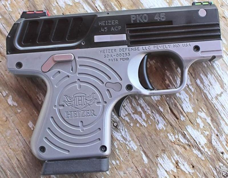 Tested: Heizer PKO-45 Pistol