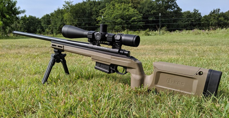 Sub-MOA All Day! Howa 1500 + KRG Bravo Chassis = Awesome Factory Accuracy