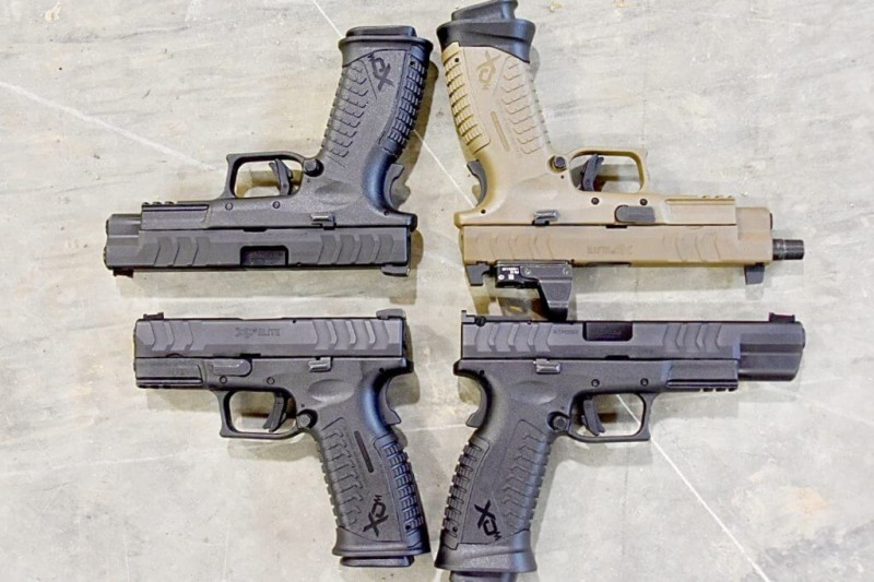 Springfield's New Elite XD-M Pistols – New Trigger, New Grip Safety, Bigger Mags – Full Review