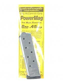 Chip McCormick Power Magazine 8rd .45ACP SS
