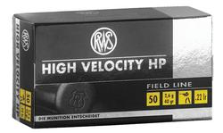 RWS High Velocity HP .22LR 40gr 50rds Hollow Point