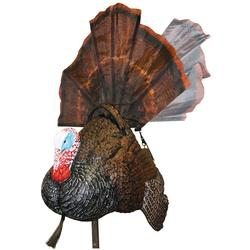 Mojo Outdoors Shake-N-Jake Motorized Motion Turkey Decoy - Blaze Orange