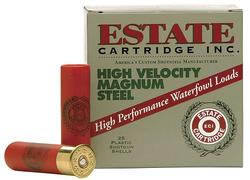Estate Cartridge High Velocity Magnum Steel Shotshells - 12 ga. - #4 Shot - 1-1/4 oz. - 25 rounds
