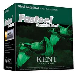 Kent Cartridge K122ST363 2.75-inch 11/4 Steel 25rds