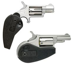 North American Arms Mini-Rev Holster / Grip Combo Stainless .22 LR 1.125-inch 5Rds