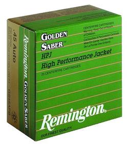 Remington Golden Sabre 45ACP 185GR BJHP 25rds