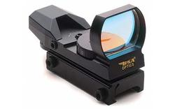 BSA Optics Panoramic 34x24 Sight w/ Red/Green/Blue Reticles, Weaver Rail Mount PMRGBS