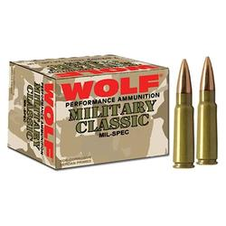 Wolf Performance Ammo MC308SP168 MLT 308 168Grain 500Rounds