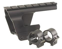 B-Square Modern Military Rifle Scope Mount, Ak-47/mak-90 Receiver, 1in Rings, Blue 1008622