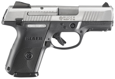 Ruger SR9 and SR40 Centerfire Pistols - Stainless Steel (Full Size)