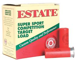 Estate SS28 Super Sport Competition Target Load 28ga 2-3/4in shells 9 shot size 250rds