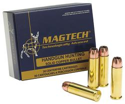Magtech 500D SPORT SHOOTING 500 S&W Full Metal Jacket 325 GR 20Box/25Case