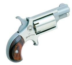North American Arms Companion Cap & Ball Percussion Revolver Stainless Steel .22 1.125-inch 5 Rds