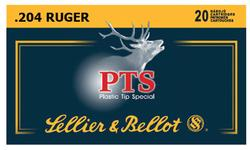 204 Ruger - 32 Grain PTS Ballistic Tip - Sellier & Bellot - 20 Rounds