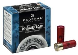 "Federal Classic Hi-Brass 12 Gauge 2 3/4"" 1 1/4 oz. Shotshells 25 rounds"
