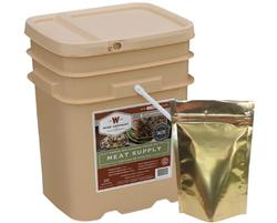 Wise Meat Bucket with Rice 60 Servings