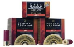 "Federal Wing Shok High Velocity 12 Ga. 2 3/4"" 1 1/8 oz, #8 Lead Shot 25rds"