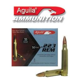 Aguila .223 Rem. Rifle Ammunition