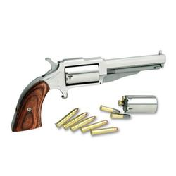 North American Arms The EarL 22LR/22MAG 3 inch Stainless 5SH