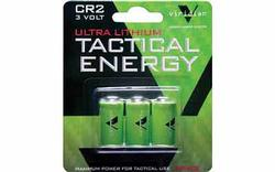 Viridian Tactical Energy + CR2 Lithium Battery 3-pack