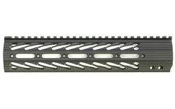 Diamondhead VRS X-556 Free Floating Threaded Handguard, 10.25in, Black, 2111