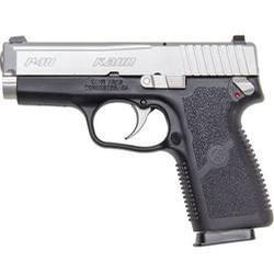"Kahr .40SW 3.6"" Barrel Matte Stainless Steel Finish Night Sights External safety Loaded chamber indicator"