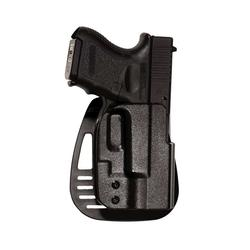 Uncle Mikes 5412-2 Kydex Paddle Holster LH SZ 12