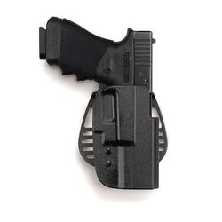 Uncle Mike's Kydex Black Paddle Holster, Springfield XD Compact, Right Hand 5427-1