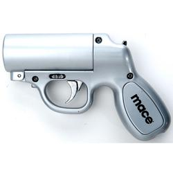 MACE PEPPER GUN - SILVER 13.12 OZ