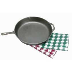CAST IRON SKILLET - 13IN