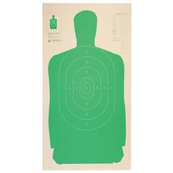 Champion LE B27CB Cardboard Silhouette Green Target, 24 x 45inches - 25 Pack - 40728