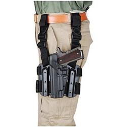 BlackHawk Tactical SERPA Thigh Holster, Left Hand, Beretta 92/96, Black