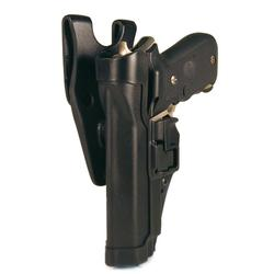 BlackHawk LE Duty Gear Level 2 SERPA Duty Holster, Left Hand, Beretta 92/96, Black