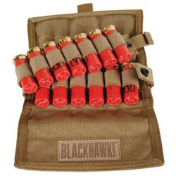 Blackhawk S.T.R.I.K.E. Shotgun Ammo Pouch Holds 18rds MOLLE Mount 500D Ripstop Coyote Tan