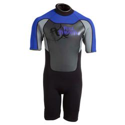 FULL THROTTLE YOUTH SHORTY WETSUIT BLU/GRY L