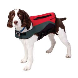 Onyx Neoprene Pet Vest - Small - Red/Grey