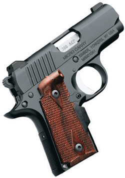 Kimber Micro Carry with Rosewood Lasergrips .380ACP 3300089