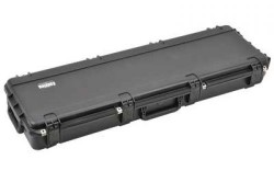 SKB Cases Injection Molded 50.5inx14.5inx6in Gun Case, Layered&Convolute Foam, Black, 3I-5014-6B-L