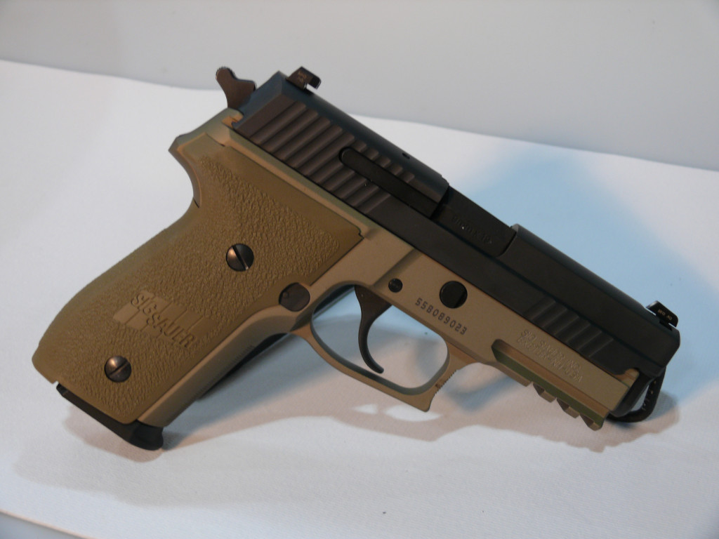 "USED SIG P229 9MM 3.9"" FDE 15RD"