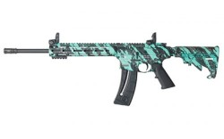 Smith and Wesson M&P15-22 Sport Robins Egg Blue .22 LR 16.5-Inch 25rd