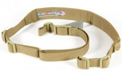 Blue Force Gear Vickers Combat Applications Padded Sling w/Nylon Adjuster and Hardware, Coyote Tan VCAS-200-OA-CB