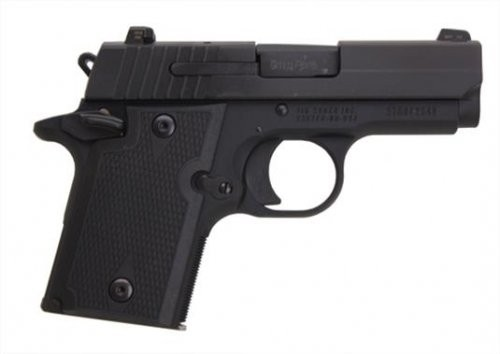 Sig Sauer P938 Nitron Black 9mm 3-inch 6Rds Ambi Thumb Safety