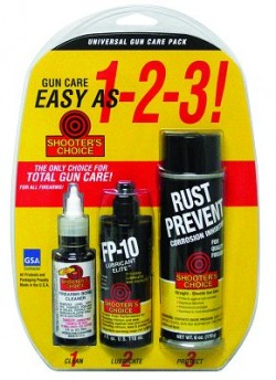 Shooters Choice Universal Gun Care Pack
