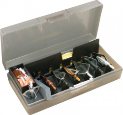 BROADHEAD ACCESSORY BOX - CLEAR SMOKE