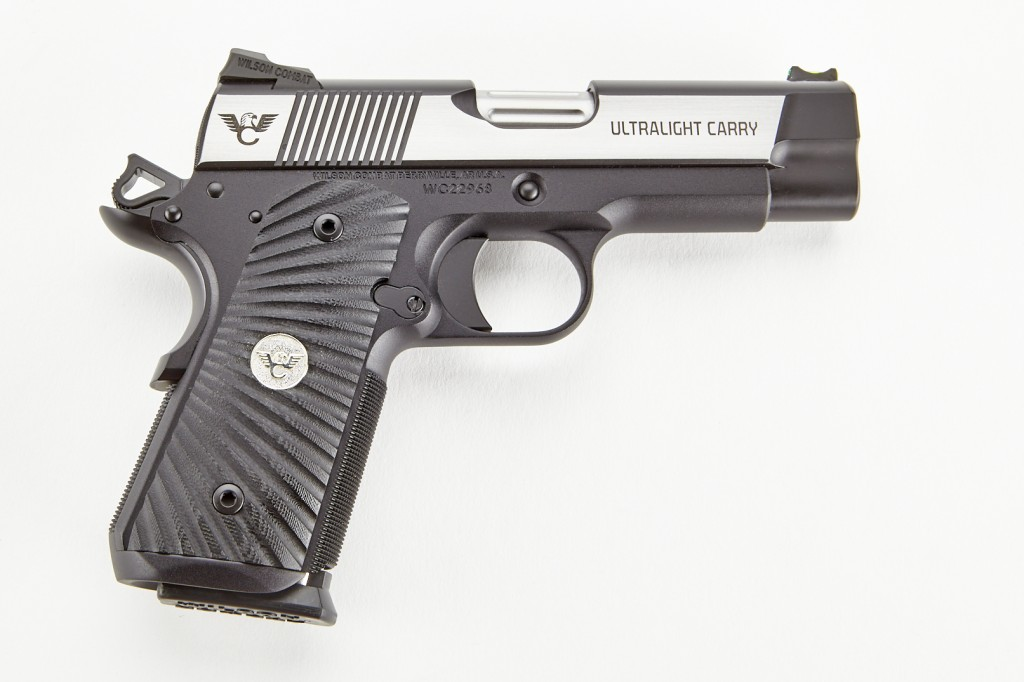 Wilson Combat Ultralight Carry, Compact, .45 ACP, Reverse Two-Tone, Stainless/Black